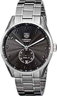 Tag Heuer Men's WAS2110.BA0732 Carrera Black Dial Dress Watch