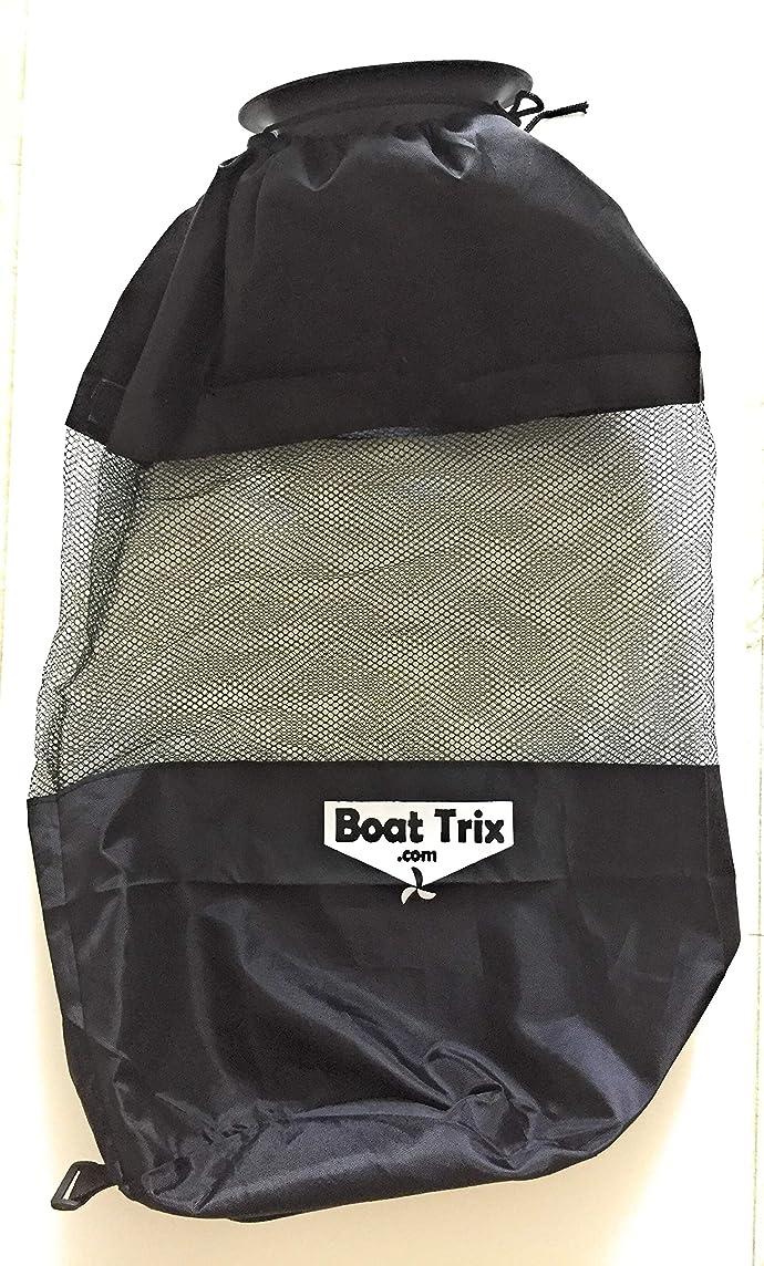 Boat Trash Bag - Large Hoop Mesh Trash Bag for Your Boat