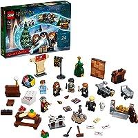 LEGO 76390 Harry Potter Adventskalender 2021 Spielzeugset für Kinder ab 7 Jahren mit 6 Minifiguren und Spielbrett