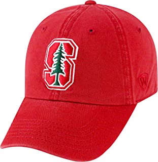 Top of the World NCAA Mens College Town Crew Adjustable Cotton Crew Hat Cap