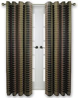Versailles Home Fashions BPU144884-12 Bamboo Wood Curtain Panel, 48