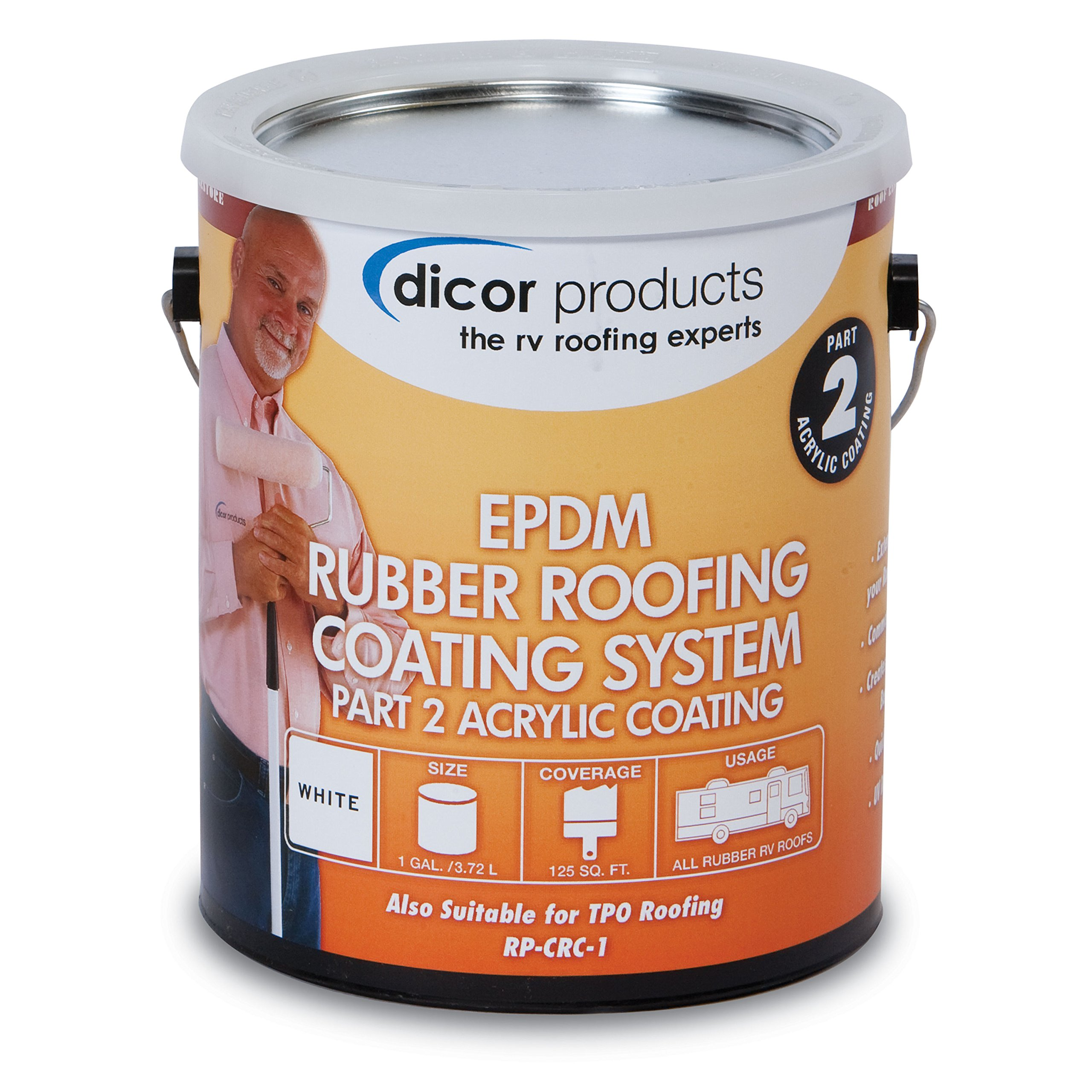 Dicor RP CRCT 1 EPDM Acrylic Coating