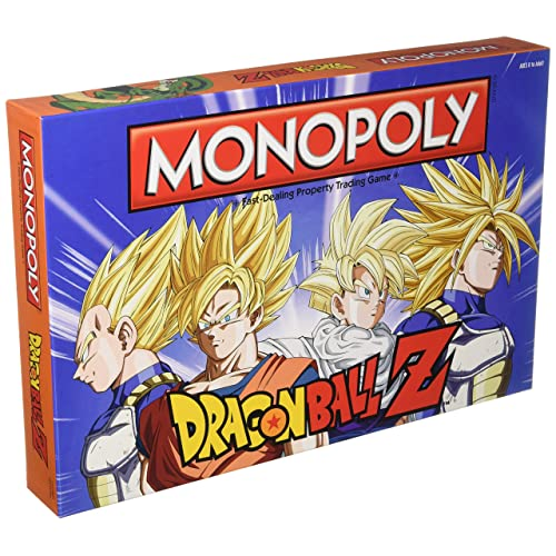 Monpoly Dragon Ball Z Board Game | Recruit legendary warriors like GOKU, VEGETA and GOHAN