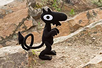 Disenchantment inspired - Luci plush - handmade soft toy with wire frame in the tail, 11 in high