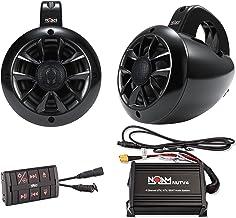 NOAM NUTV4 – Marine Bluetooth ATV/Golf Cart/UTV Speakers Stereo System