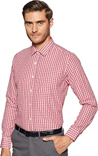 Max Men's Checkered Slim Fit Formal Shirt