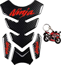 MOTORCYCLE TANK PROTECTOR PAD HULK WITH KEYCHAIN UNIVERSAL