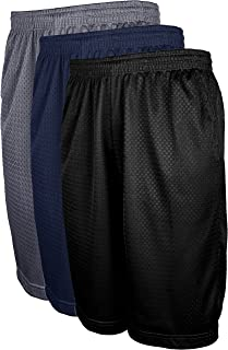 Men's Active Running Basketball Mesh Shorts with Pockets in Sets S-5XL