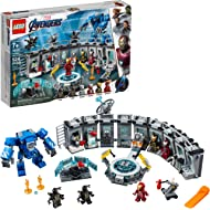 LEGO Marvel Avengers Iron Man Hall of Armor 76125 Building Kit, New 2019 (524 Pieces)