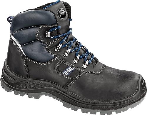 Albatros 631861-256-45 Chaussures Chaussures de sécurité Unit Mid, Noir Bleu, 45  meilleure offre