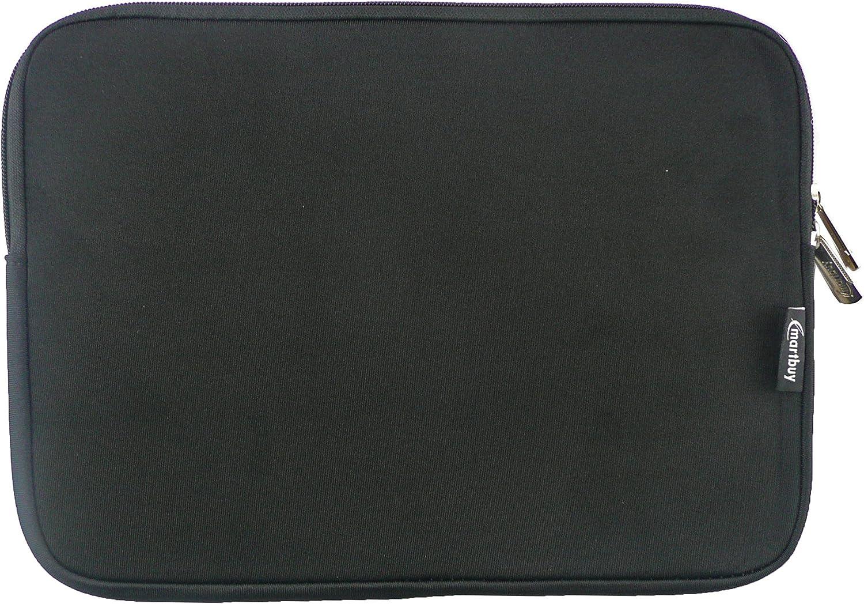 11.6-13.3 Inch Laptop Emartbuy Black//Red Water Resistant Neoprene Soft Zip Case Cover Sleeve With Red Interior /& Zip Suitable for Apple Macbook Pro 13 Inch 2016