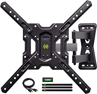 "USX MOUNT Full Motion Swivel Articulating Tilt TV Wall Mount Bracket for 26-55"" LED,.."