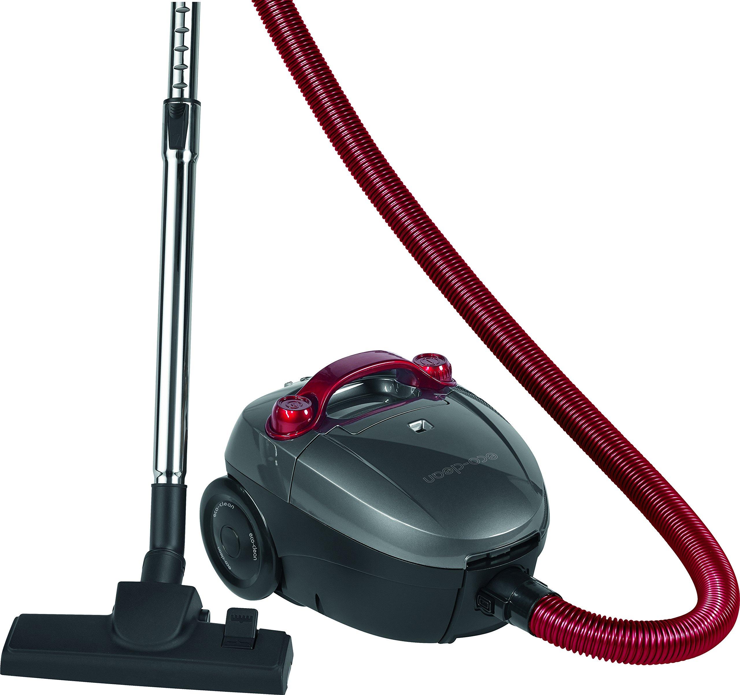 Clatronic BS 1292 - Aspiradora de trineo, 900 W, color negro y rojo: Amazon.es: Hogar