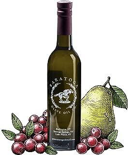 Saratoga Olive Oil Company Cranberry Pear White Balsamic Vinegar 200ml (6.8oz)
