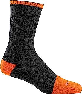 Darn Tough Men's Steely Micro Crew Cush W/Full Cush Toe Box Graphite Socks