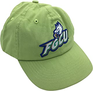 Tailgate Heritage FGCU Florida Gulf Coast University Eagles Green Hat Cap with Leather Strap