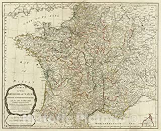 Best vintage map of france Reviews