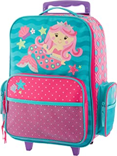 Stephen Joseph Classic Rolling Luggage, Mermaid