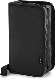 Pazzimo Porta CD para 120 Discos de DVD/CD/BLU-Ray - Estuche Organizador transportable para Guardar CDs con Fundas Protect...