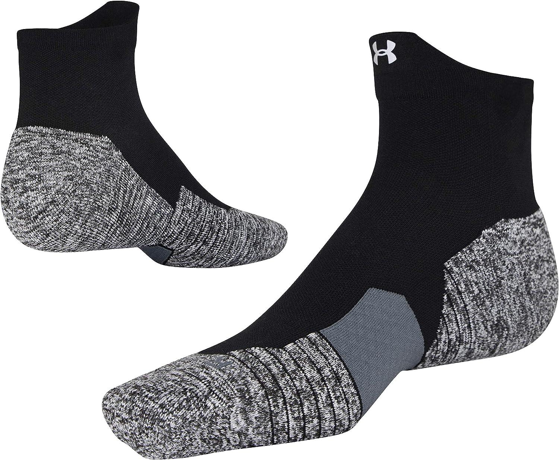 Under Armour Adult Run Cushion Quarter Socks, 1-Pair