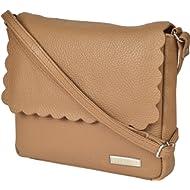 Leather Crossbody Purse for Women Small - Cross Body Bag Over the Shoulder Purses Womens Handbag...