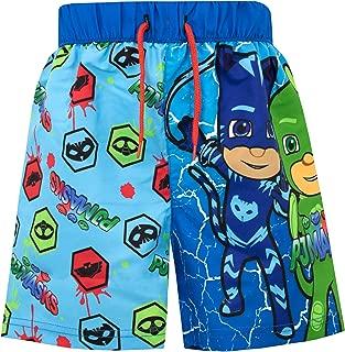 PJ Masks Boys Catboy Gekko and Owlette Swim Shorts