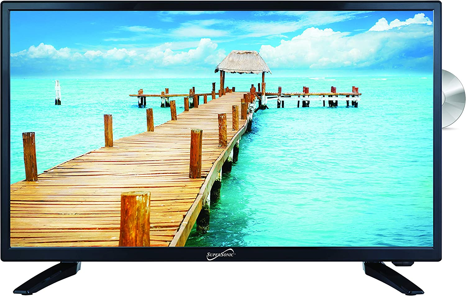 SuperSonic SC-2412 Low price LED Widescreen HDTV 24