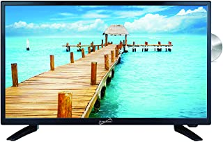 "SuperSonic SC-2412 LED Widescreen HDTV & Monitor 24"", Built-in DVD Player with HDMI, USB, SD & AC/DC Input: DVD/CD/CDR Hig..."