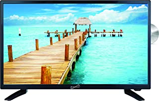 "SuperSonic SC-2412 LED Widescreen HDTV 24"", Built-in DVD Player with HDMI, USB, SD & AC/DC Input: DVD/CD/CDR High Resolution and Digital Noise Reduction"