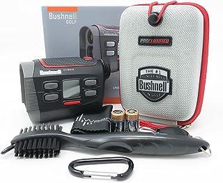 $409 » Bushnell Hybrid Laser and GPS Golf Rangefinder 201835 Bundle with Carrying Case, Carabiner, Lens Cloth, Wearable4U Golf Br...