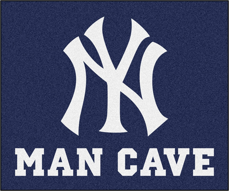 FANMATS MLB sale - New York Yankees 5'x6' Rug Cave supreme Man Tailgater