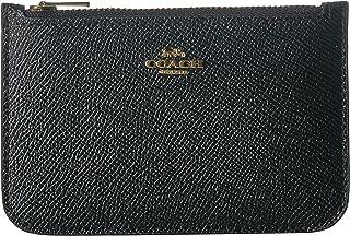 603b584e1d967 COACH Women s Zip Card Case in Crossgrain Leather