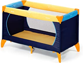 Hauck Dream'n Play, Travel Bed, 0M+ to 15 kg - Yellow Blue Navy