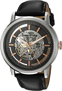 Men's 10026782 Automatic Analog Display Japanese Automatic Black Watch