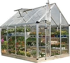Palram Snap & Grow Greenhouse - 6' x 8'