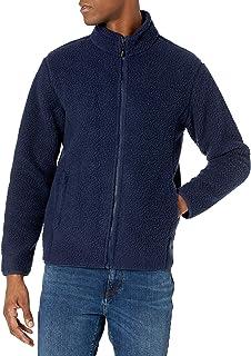 Amazon Essentials Mens High Pile Fleece Full-Zip Jacket