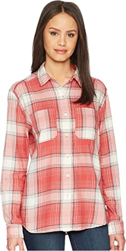 Sunbaked Red Trailhead Plaid