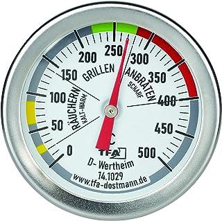 Tfa Dostmann Termometr do Grillowania, Stal Szlachetna, Wielokolorowy, Do 500°C