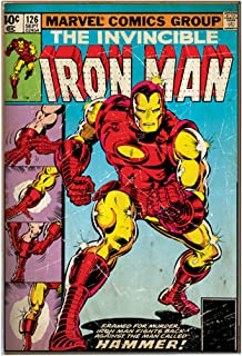 Silver Buffalo MC1536 Marvel Iron Man