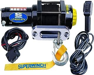 Superwinch (1140230 Black 12 VDC LT4000ATV SR Winch - 4000 lb. Load Capacity