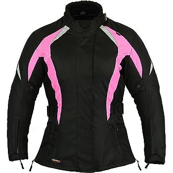 Veste de moto//moto fine pour femme Rose Taille L