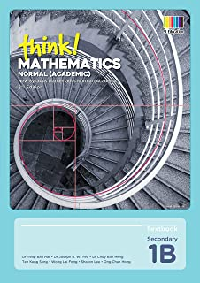 Think! Mathematics Secondary Normal (Academic) Textbook 1B (2nd Edition)