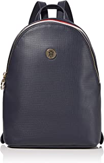 Tommy Hilfiger Effortless Saffiano Womens Backpack Navy