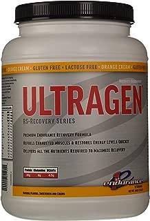 First Endurance Ultragen RS-Recovery Series Orange Cream, 15 Serving 1365g (3.0Lb)