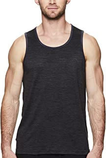 Gaiam Men's Everyday Basic Muscle Tank Top - Sleeveless Yoga & Workout Shirt