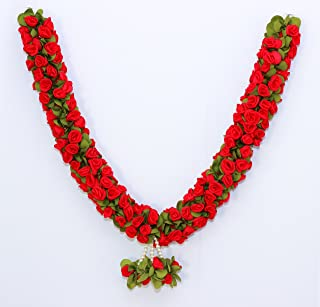 Daedal Crafters- Rose Garland(Red)