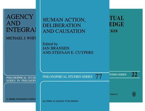 Philosophical Studies (51-100) (50 Book Series)