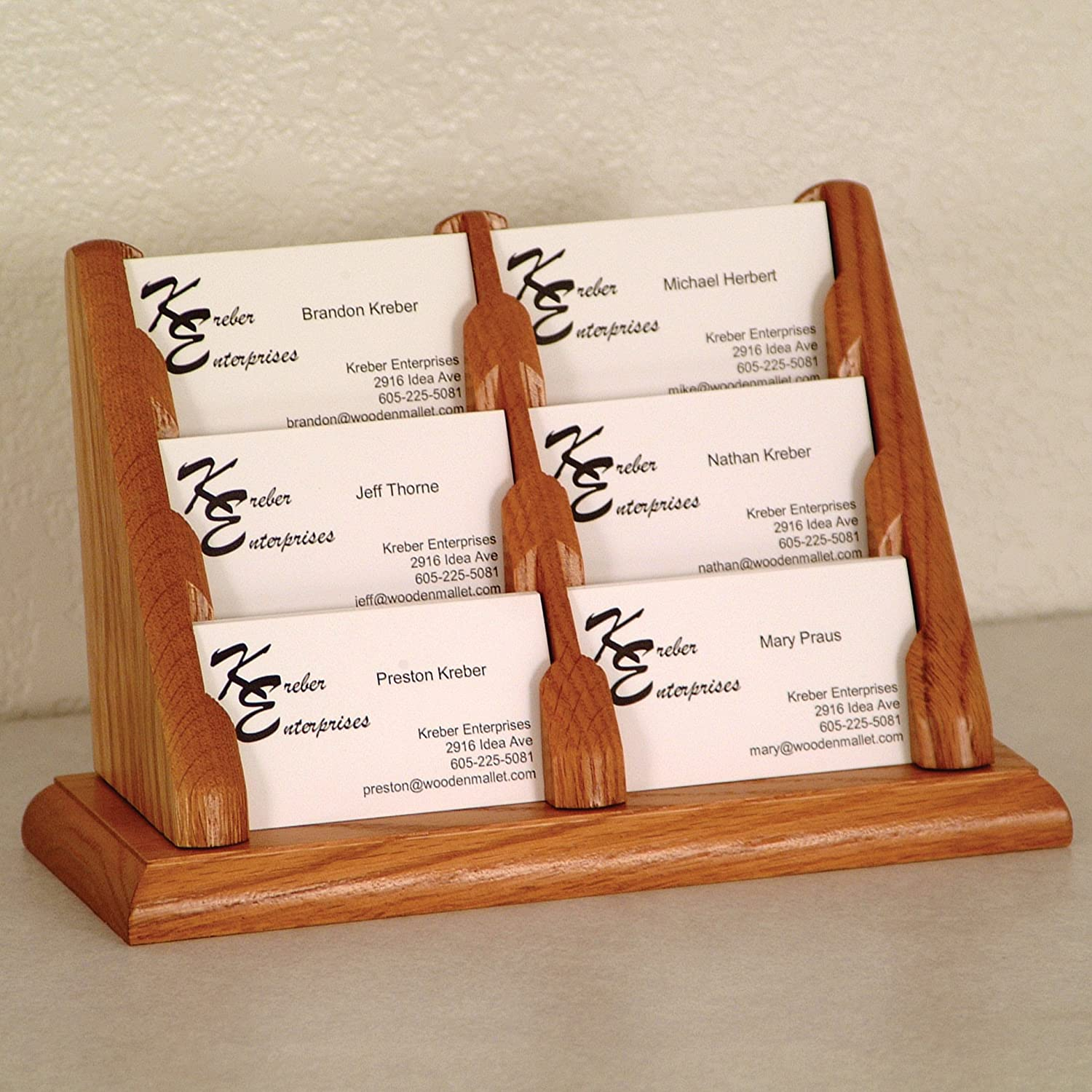 Credence Challenge the lowest price DMD Countertop Business Card Holder with Pocket Display 6
