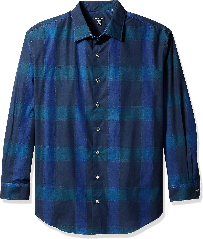 Van Heusen Men's Big and Tall Long Sleeve Engineer Shirt