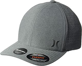 hot sale online 001b8 cc404 Hurley Men s Phantom Ripstop Curved Bill Baseball Cap